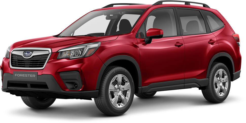 Subaru Forester rouge